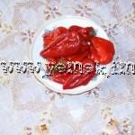 Kırmızı Biber Turşusu